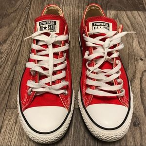 Red Converse Sneaker Size 10.5